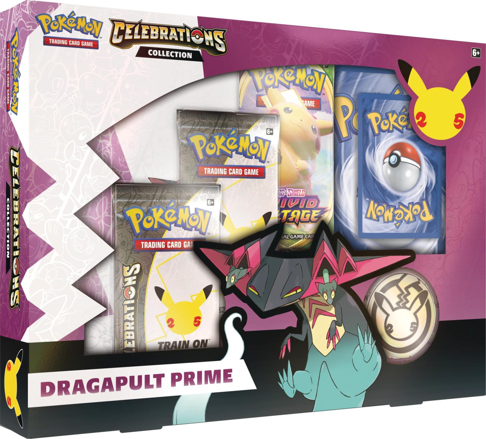 Kartová hra Pokémon TCG: Sword & Shield Celebrations - Dragapult Prime Collection
