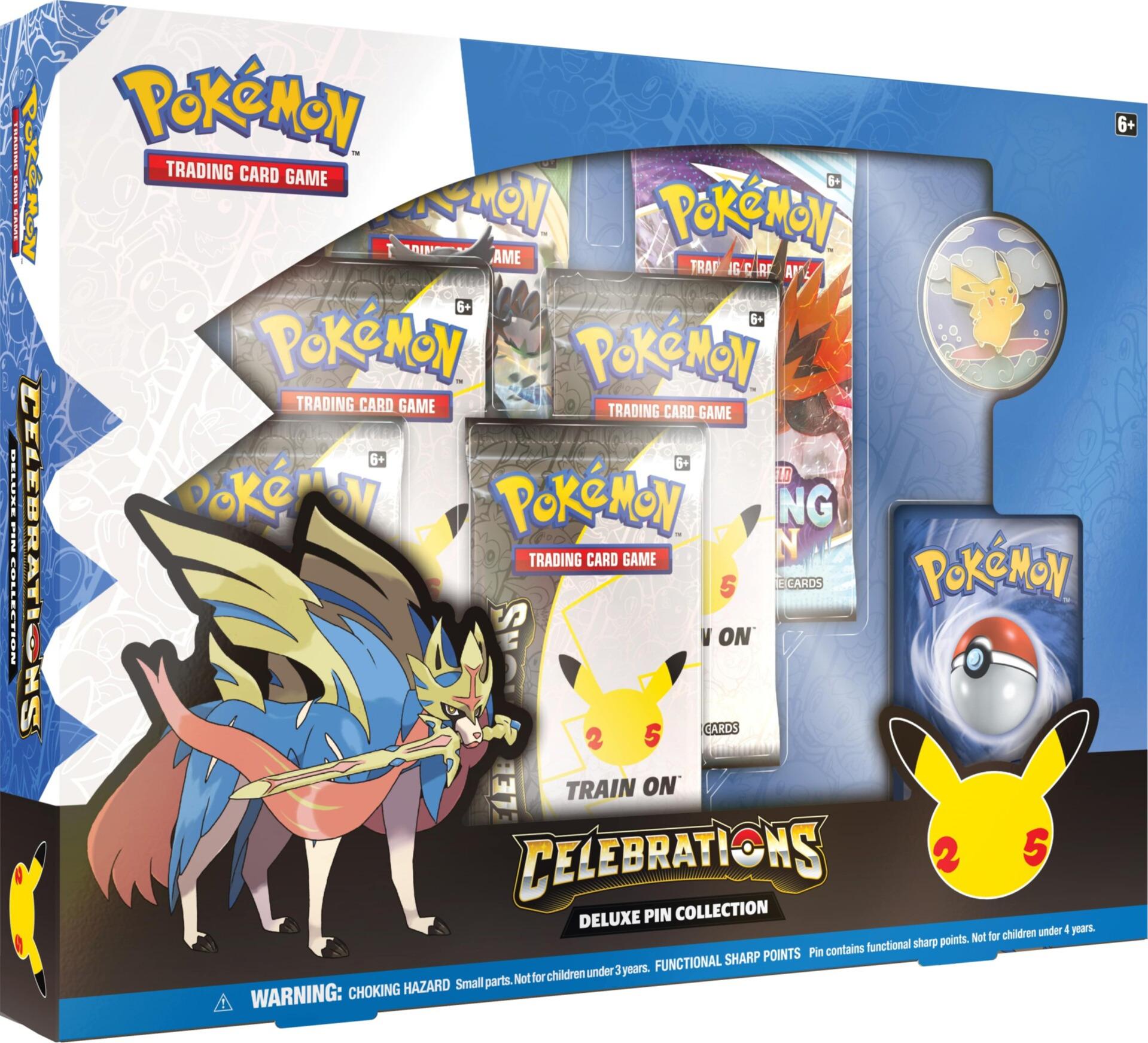 Kartová hra Pokémon TCG: Celebrations - Deluxe Pin Box