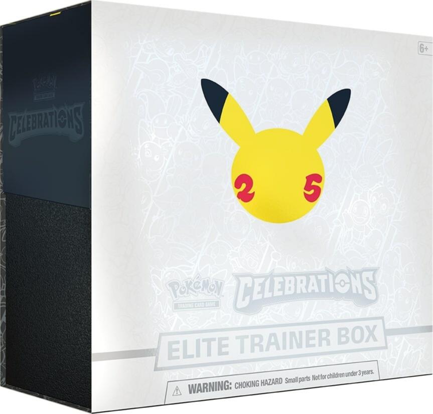 Kartová hra Pokémon TCG: Celebrations - Elite Trainer Box