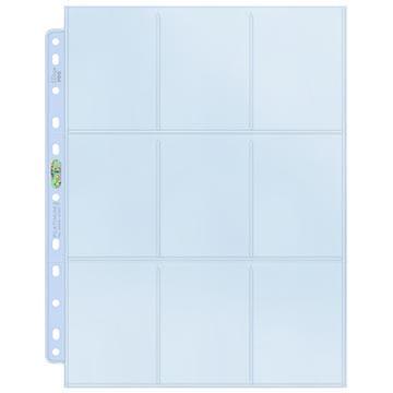 Stránka do albumu Ultra Pro - 9-Pocket Platinum Pages (1 ks)