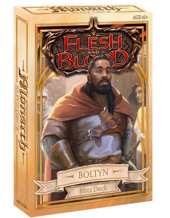 Kartová hra Flesh and Blood TCG: Monarch - Boltyn Blitz Deck