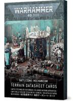 W40k: Battlezone: Mechanicus Terrain Datasheet Cards
