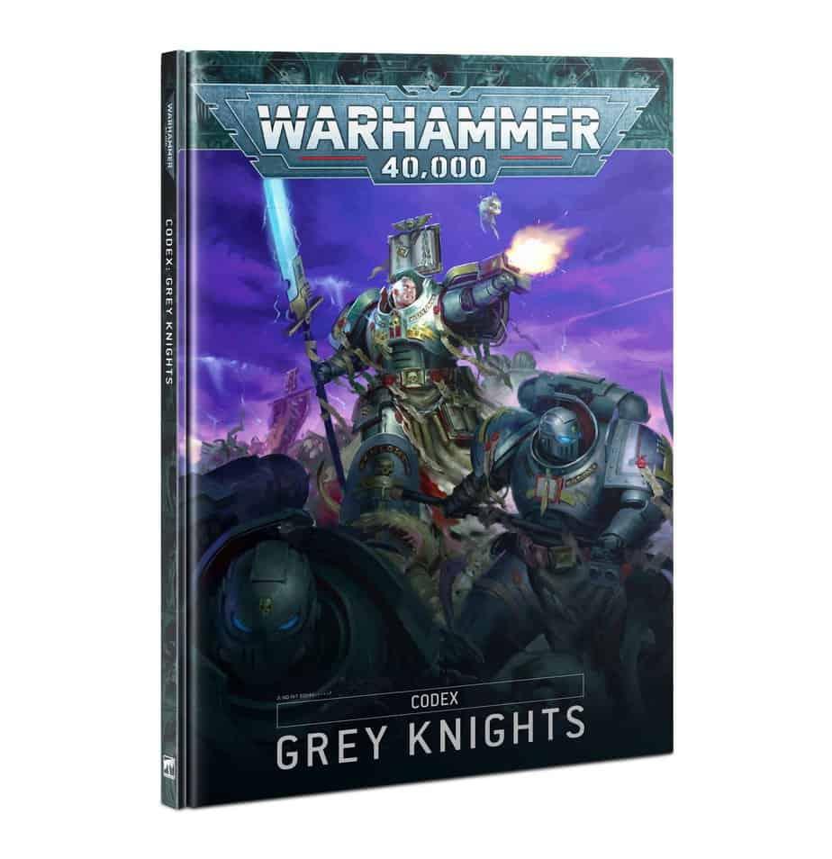 Kniha W40k: Codex: Grey Knights (2021)
