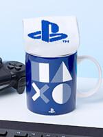 Darčekový set Playstation - Hrnček a ponožky