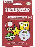 Podtácky Super Mario - Fun Facts