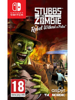 Stubbs the Zombie in Rebel Without a Pulse (SWITCH)