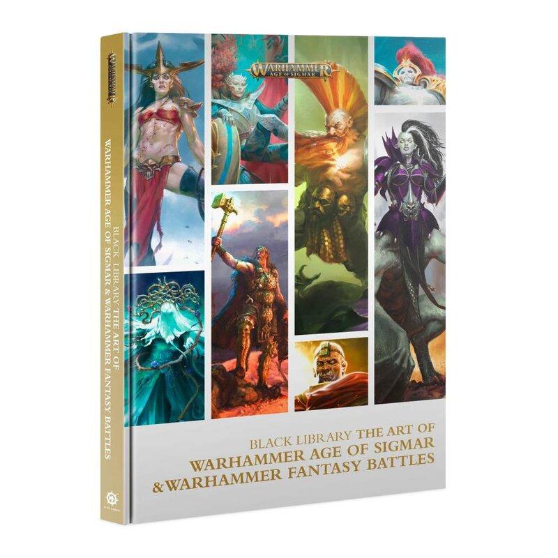 Kniha The Art of Warhammer Age of Sigmar and Warhammer Fantasy Battles