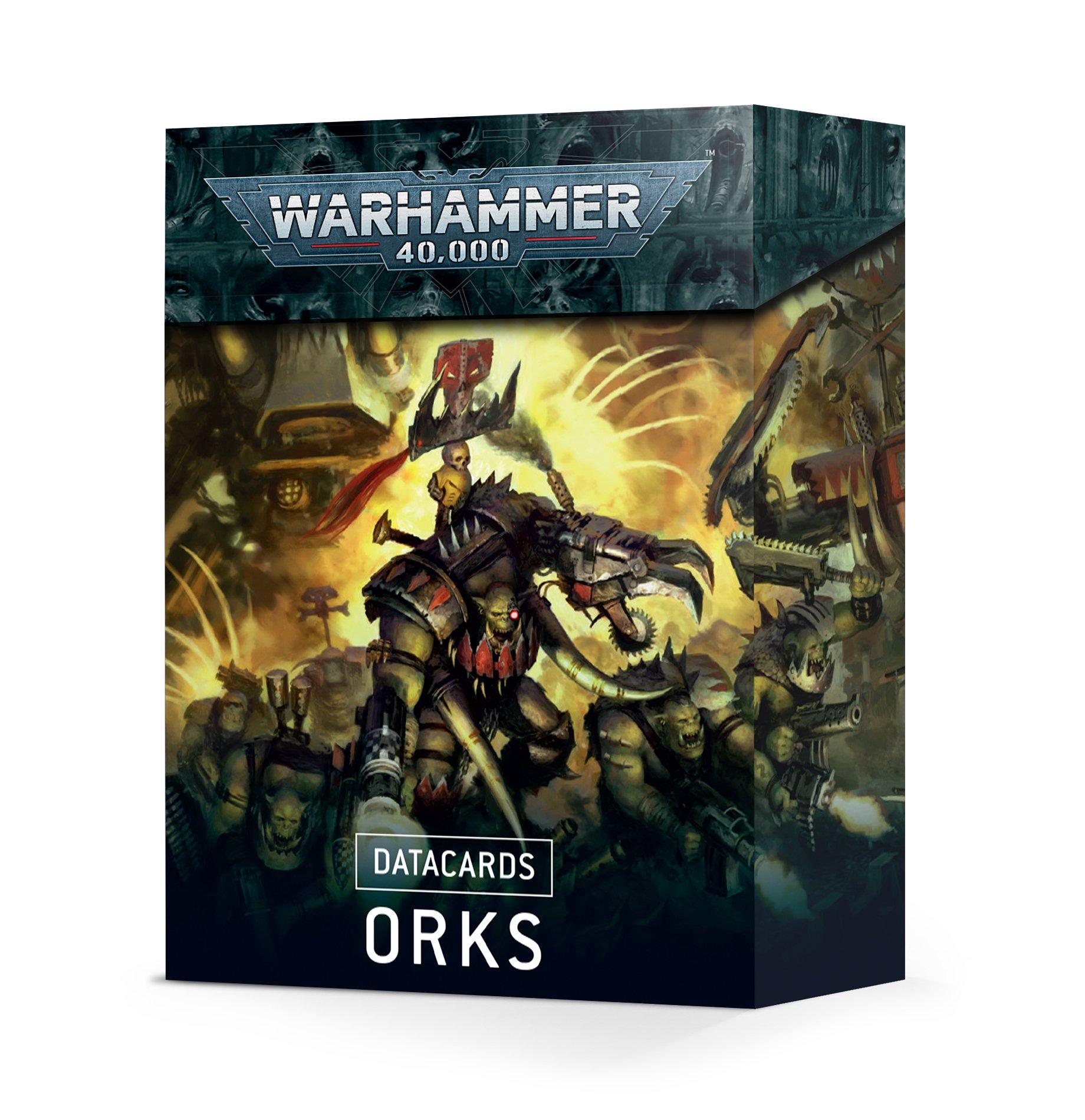 W40k: Orks Datacards (2021)