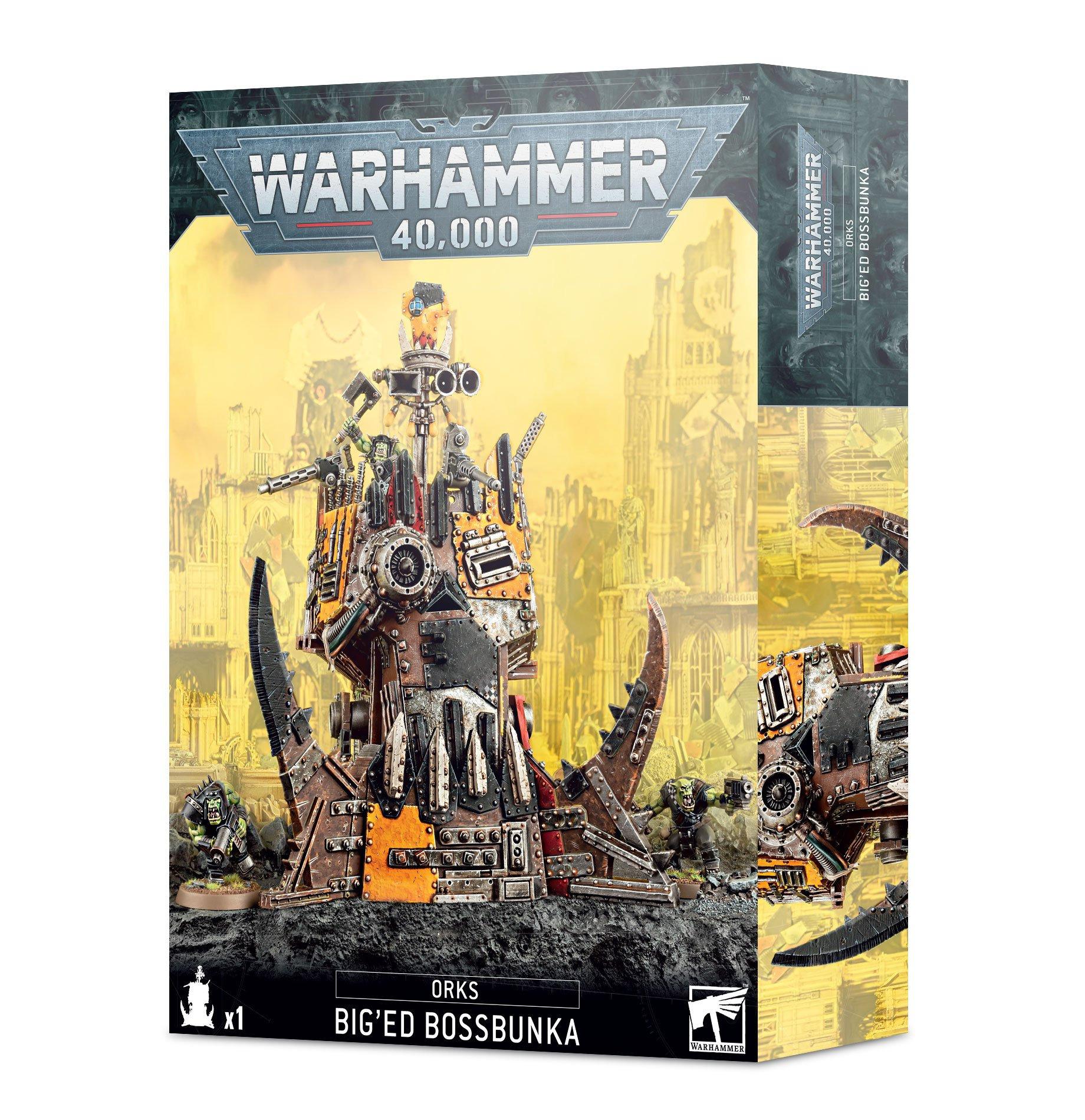 W40k: Orks - Big'ed Bossbunka (1 figúrka)