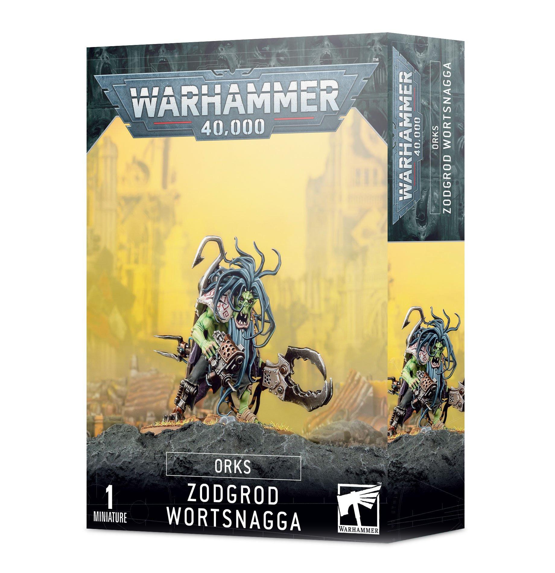 W40k: Orks - Zodgrod Wortsnagga (1 figúrka)