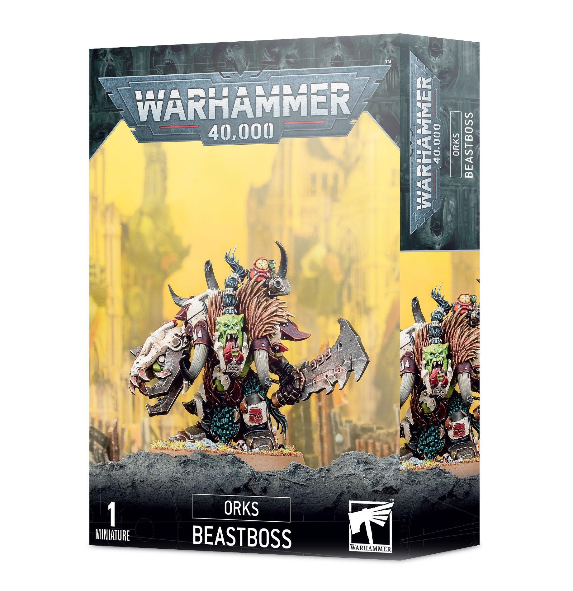 W40k: Orks - Beast Boss (1 figúrka)