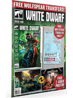 Časopis White Dwarf 2021/09 (Issue 468) + plagáty a transfer sheet