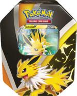 Kartová hra Pokémon TCG - Eevee Evolution Tin Jolteon V