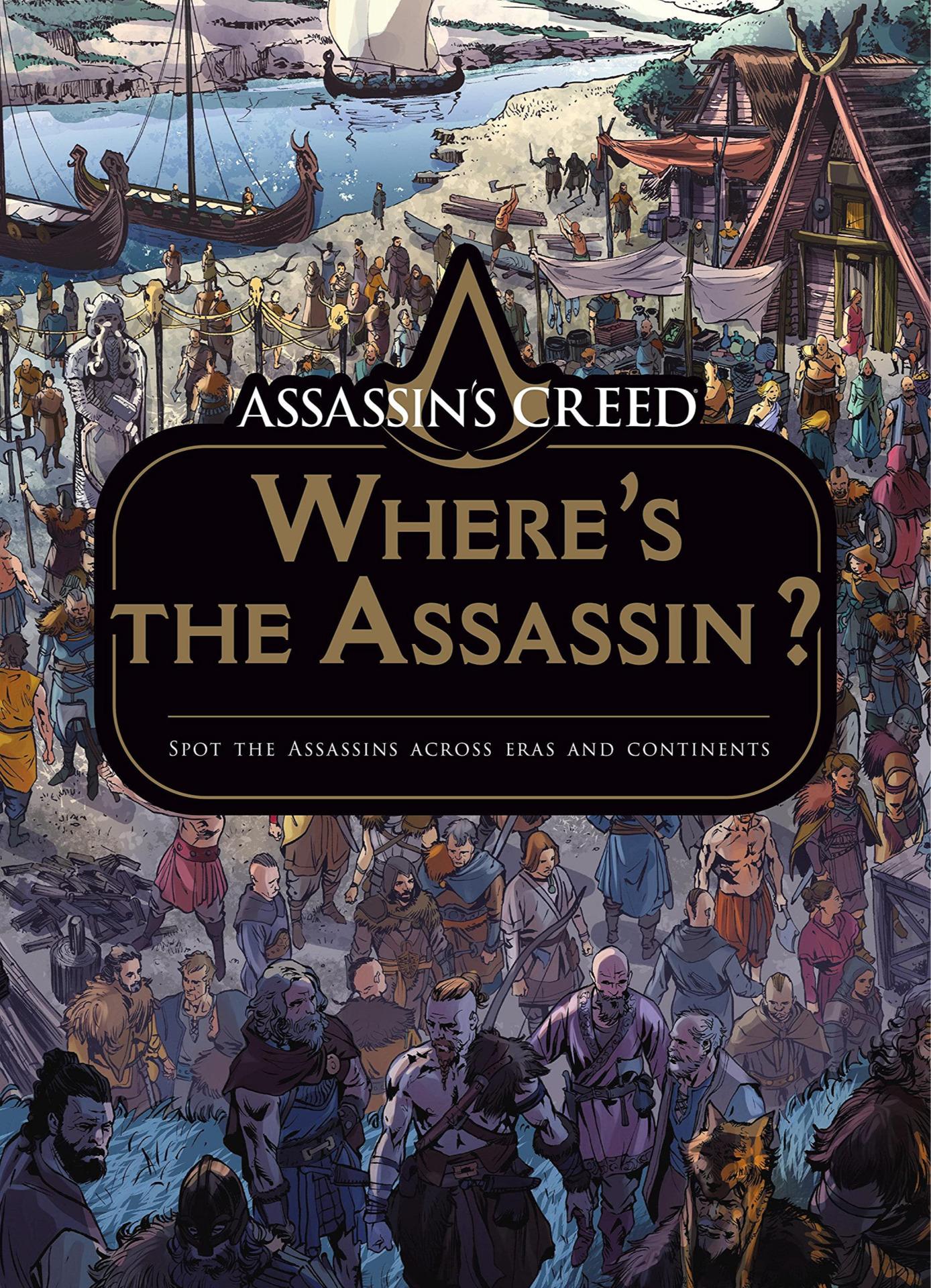Kniha Assassin's Creed - Where's the Assassin?