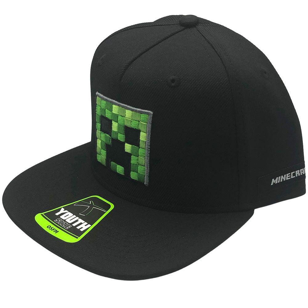 Šiltovka detská Minecraft - Creeper Face