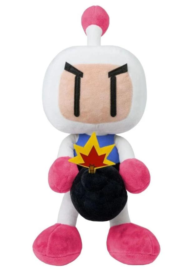 Plyšák Bomberman (Itemlab)
