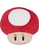 Plyšák Mario - Red Mushroom