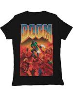 Tričko Doom: Cover (veľ. L)