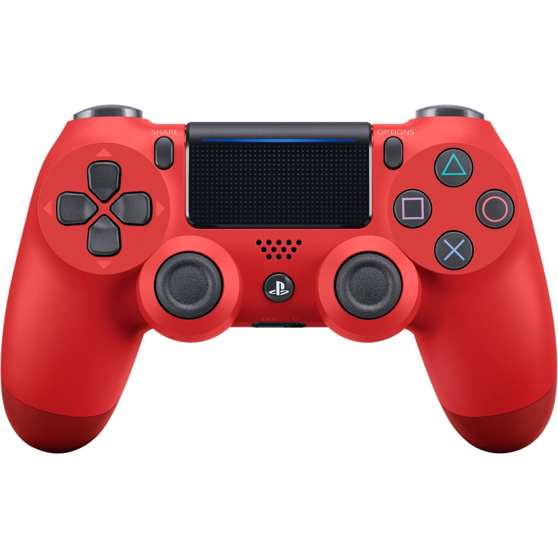 Gamepad DualShock 4 Controller v2 (červený) (PS4)
