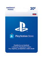 PLAYSTATION STORE – Darčeková karta 20 € (PS4)
