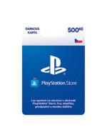 PLAYSTATION STORE – Darčeková karta 500 Kč (PS4)