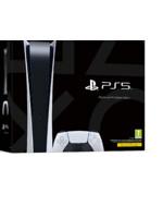 Konzola PlayStation 5 825 GB - Biela (Digital Edition) (PS5)