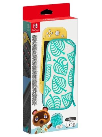 Ochranné púzdro látkové pre Nintendo Switch Lite - Animal Crossing: New Horizons (SWITCH)