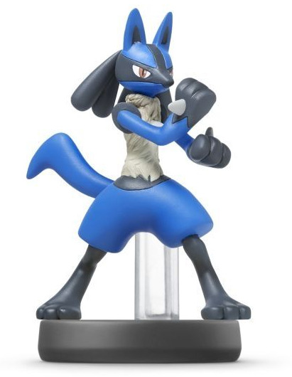 Figúrka amiibo - Lucario (Super Smash Bros.)