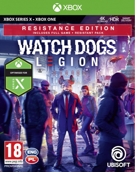Watch Dogs: Legion - Resistance Edition (XBOX)