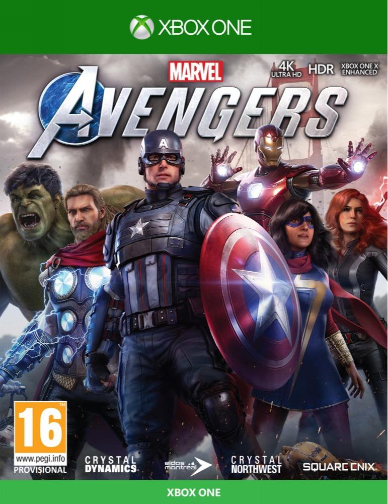 Marvels Avengers CZ (XBOX)