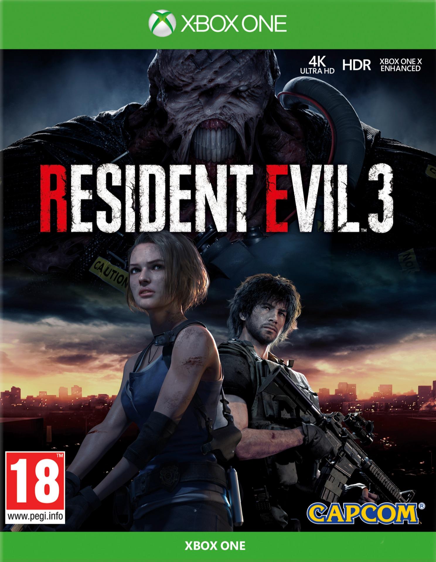 Resident Evil 3 (XBOX)
