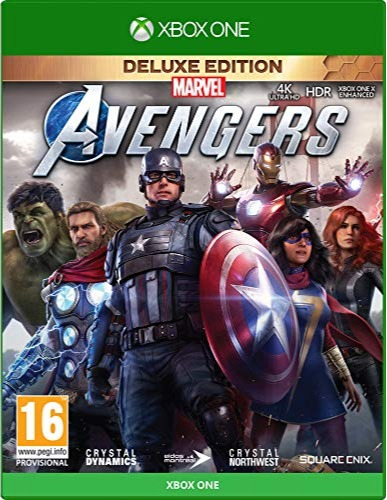 Marvels Avengers - Deluxe Edition CZ (XBOX)