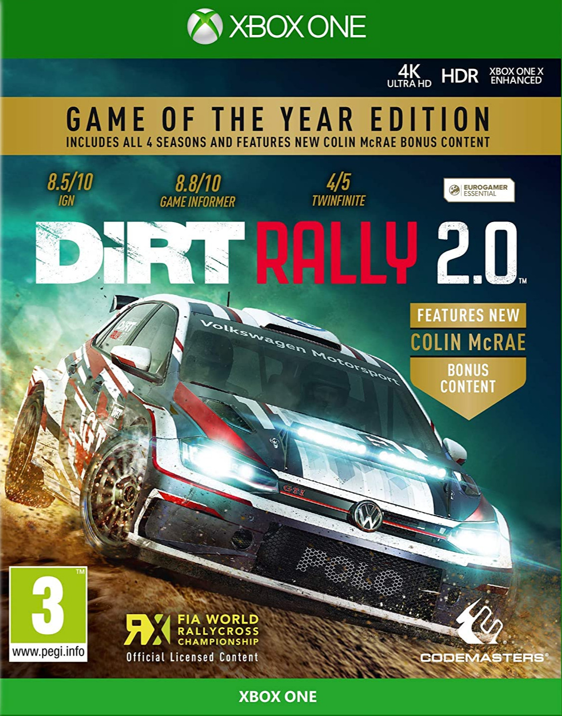 DiRT Rally 2.0 - Game of the Year Edition (XBOX)