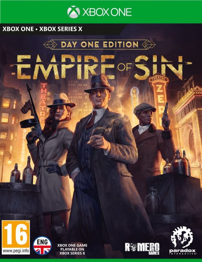 Empire of Sin - Day One Edition (XBOX)