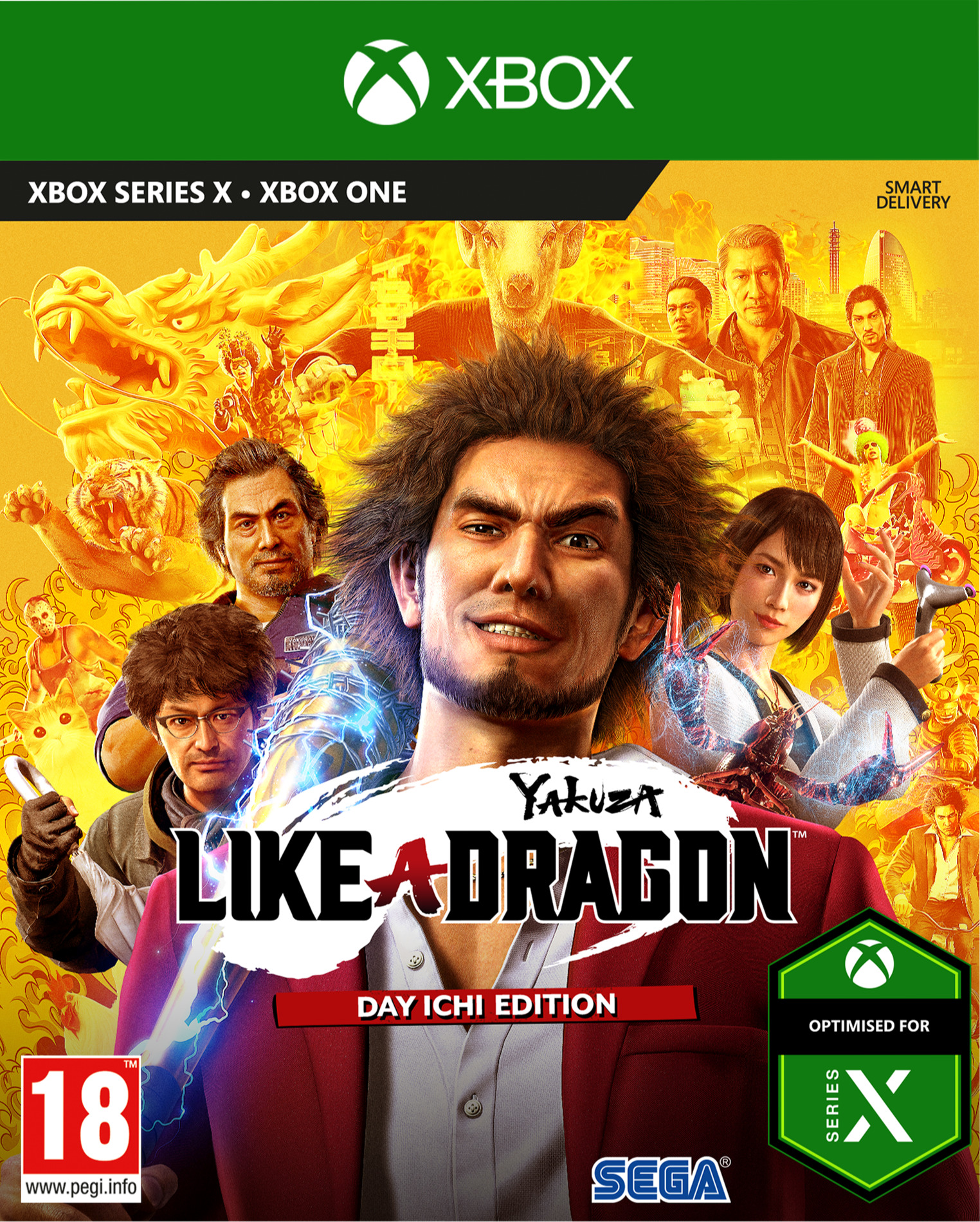 Yakuza: Like a Dragon - Day Ichi Edition (XBOX)