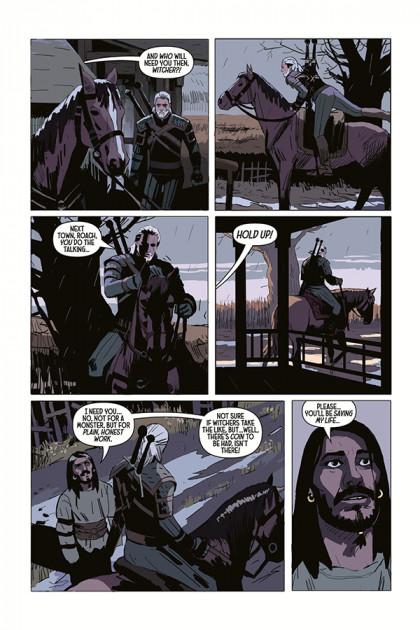 komiks witcher