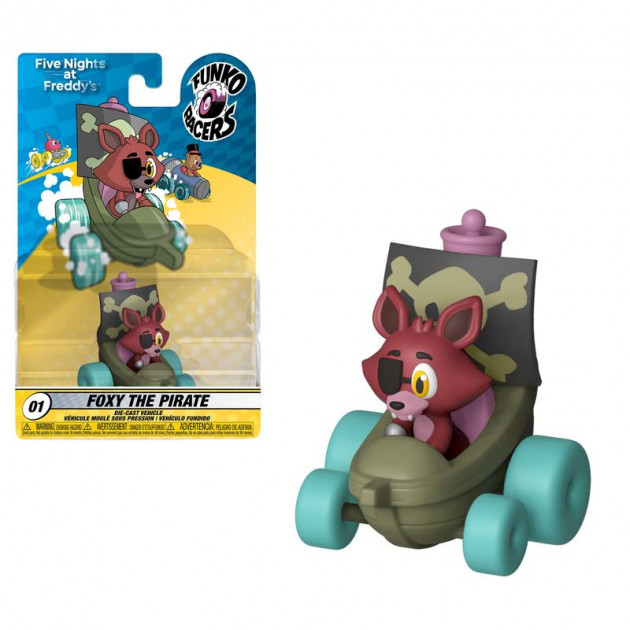 Figurka Five Nights at Freddys - Foxy the Pirate (Funko Super Racers 01)