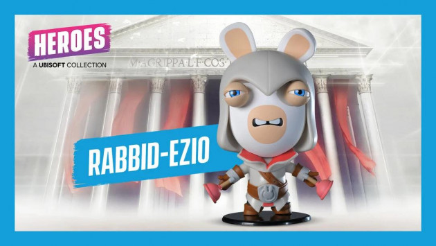 Figurka Assassins Creed - Rabbid Ezio (Ubisoft Heroes)