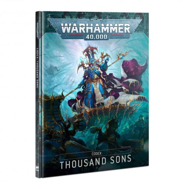 Kniha W40k: Codex: Thousand Sons (2021)