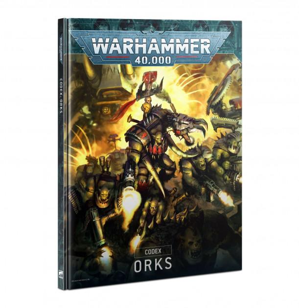 Kniha W40k: Codex: Orks (2021)