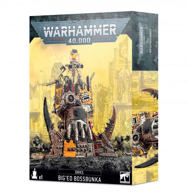 W40k: Orks - Big'ed Bossbunka (1 figurka)