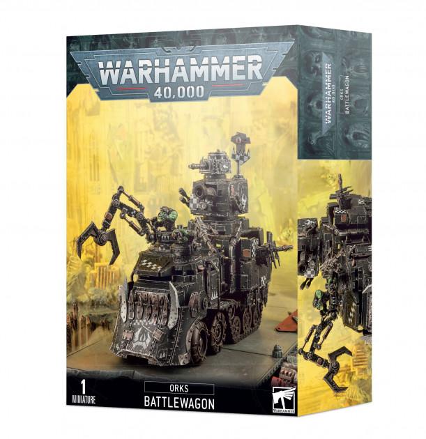 W40k: Orks - Battlewagon (1 figurka)
