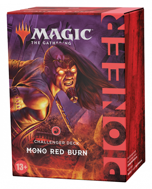 Karetní hra Magic: The Gathering - Mono Red Burn (Pioneer Challenger Deck)