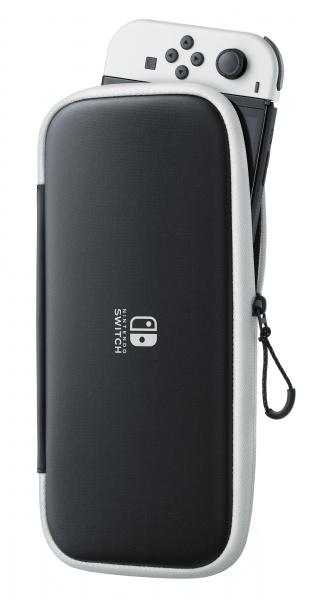 Ochranné pouzdro pevné a fólie na displej Nintendo Switch OLED model