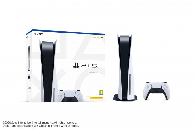 Konzole PlayStation 5 825 GB - Bílá