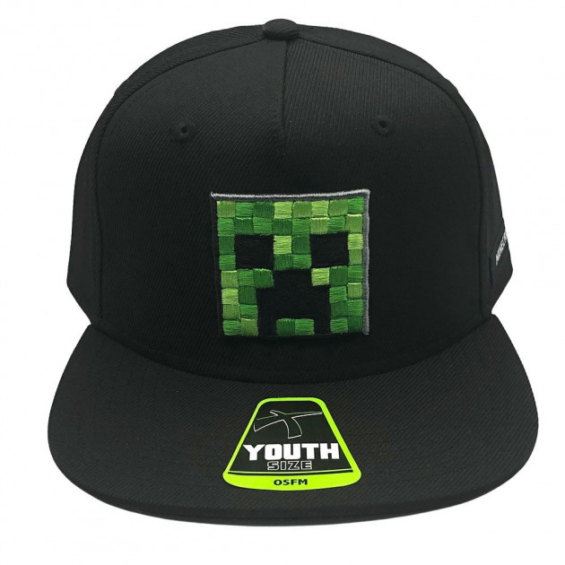 Minecraft AOP Character Youth Cap